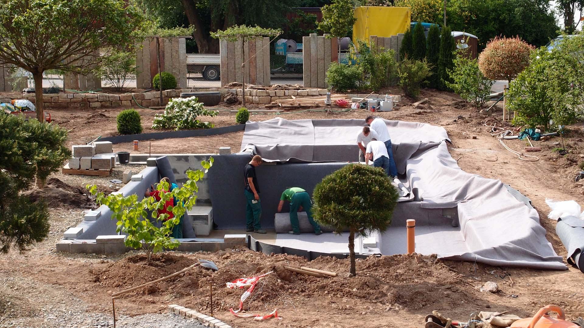 schwimmteich bauen schwimmteich selber bauen 13 m. Black Bedroom Furniture Sets. Home Design Ideas