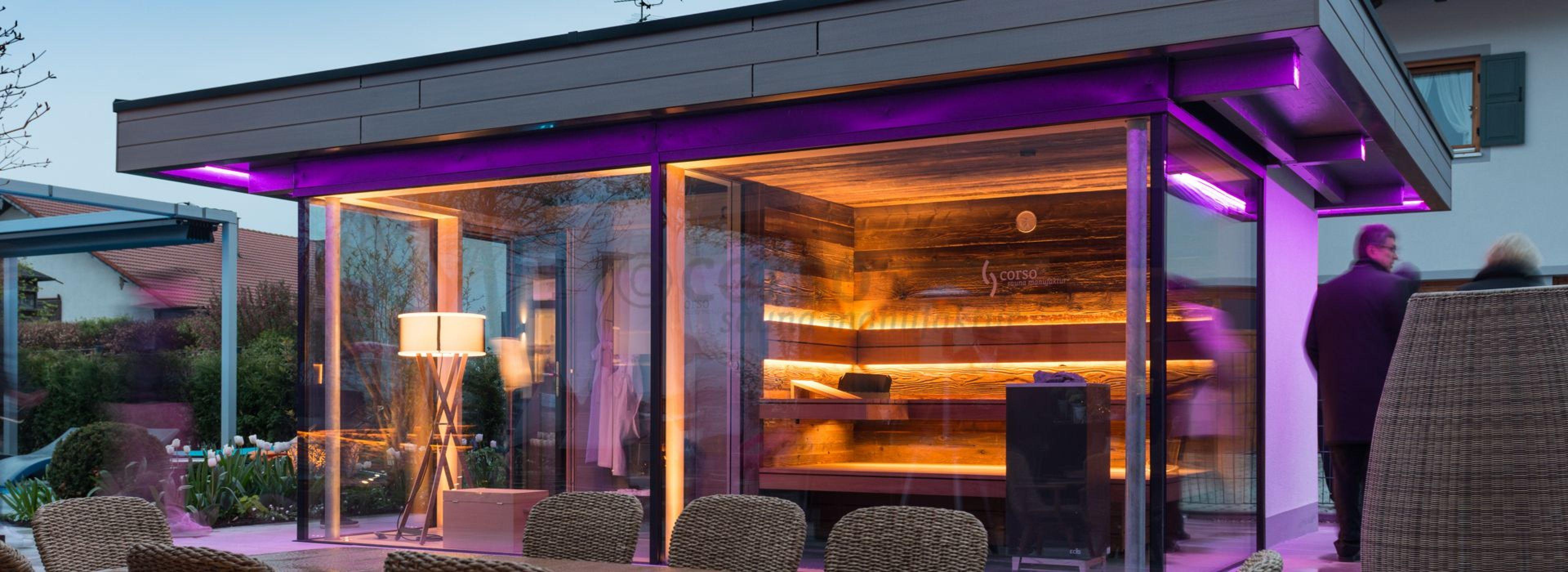 gartensaunen - eine sauna im garten